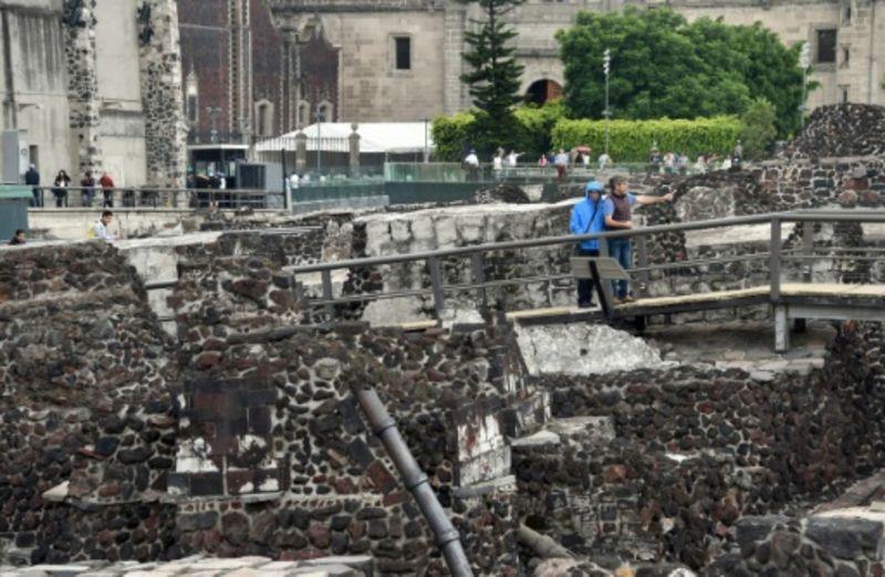 Überreste von Azteken-Palast in Mexiko-Stadt entdeckt