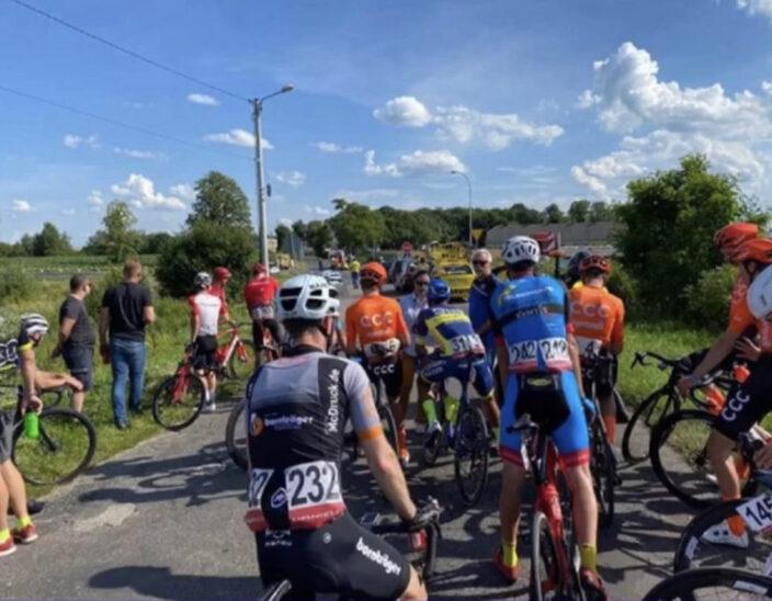 1.Etappe der Polen-Rundfahrt nach Kollision abgebrochen