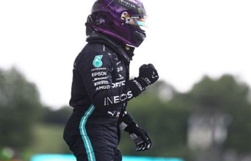 Hamilton sichert sich 90. Karriere-Pole-Position