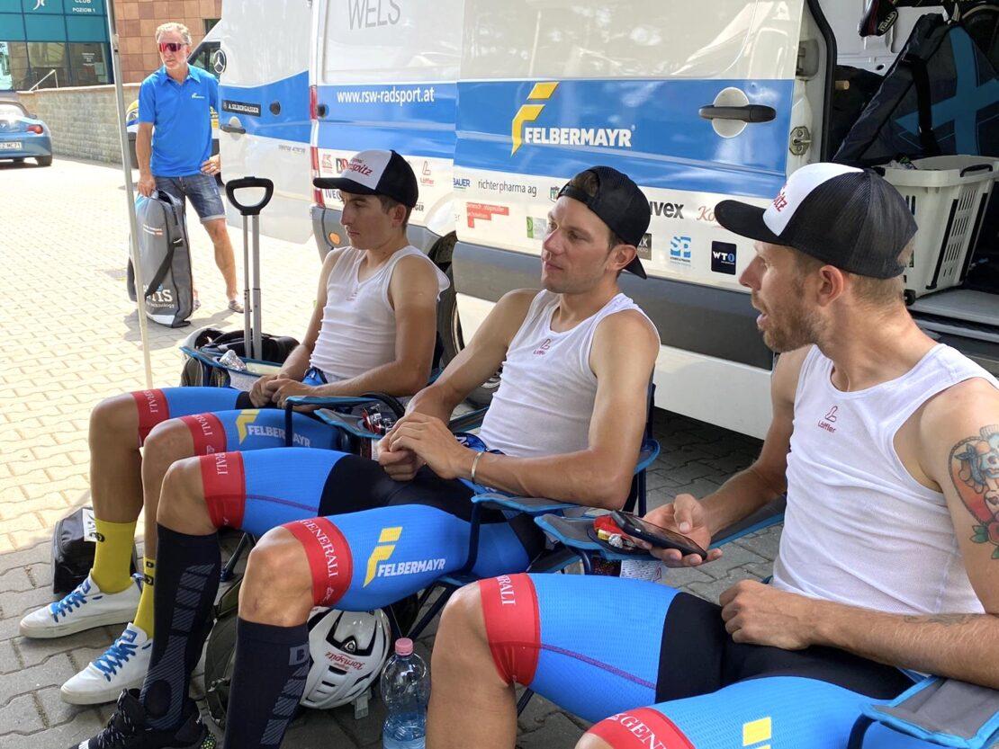 Team Felbermayr Simplon Wels bereit für nächstes Rennen