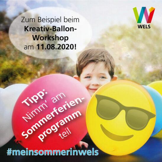 Sommerferien in Wels