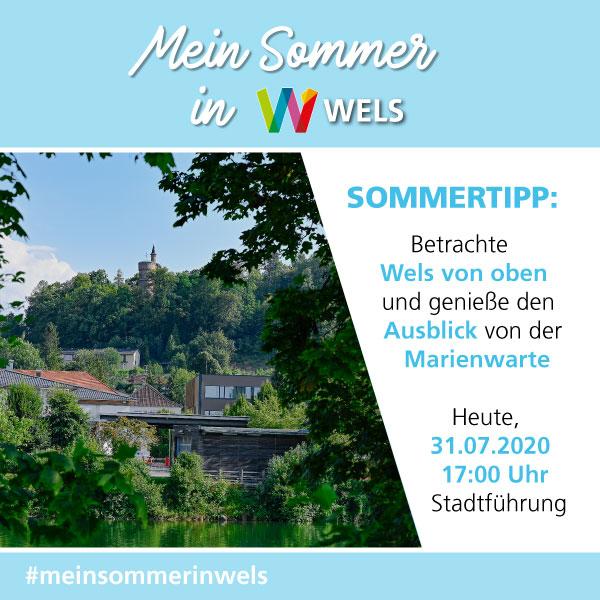 Der Sommertipp der Stadt Wels