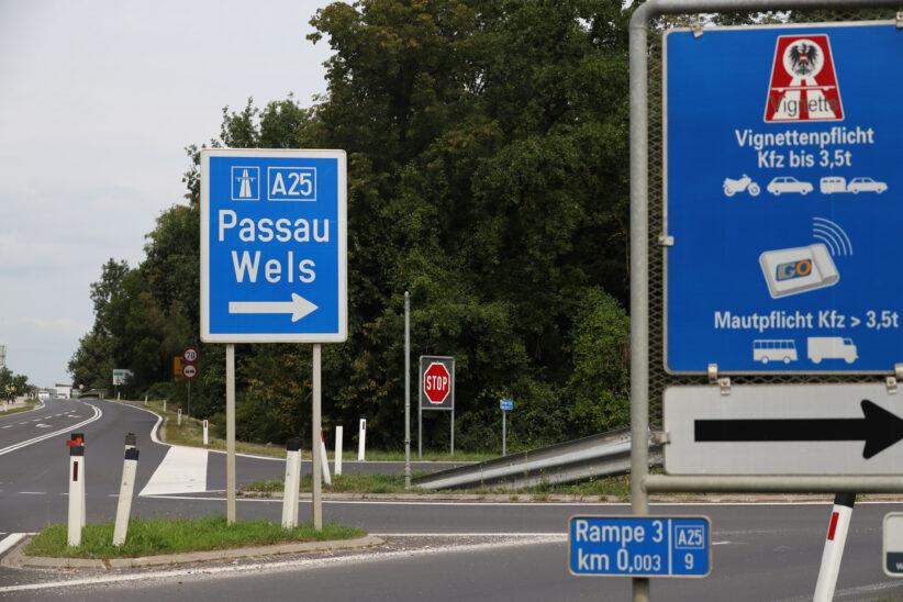 Alkolenker mit 2,5 Promille auf Welser Autobahn bei Weißkirchen an der Traun von Polizei gestoppt