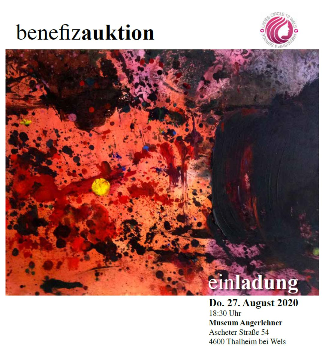 Benefizkunstauktion des Ladies Circle 13 Wels