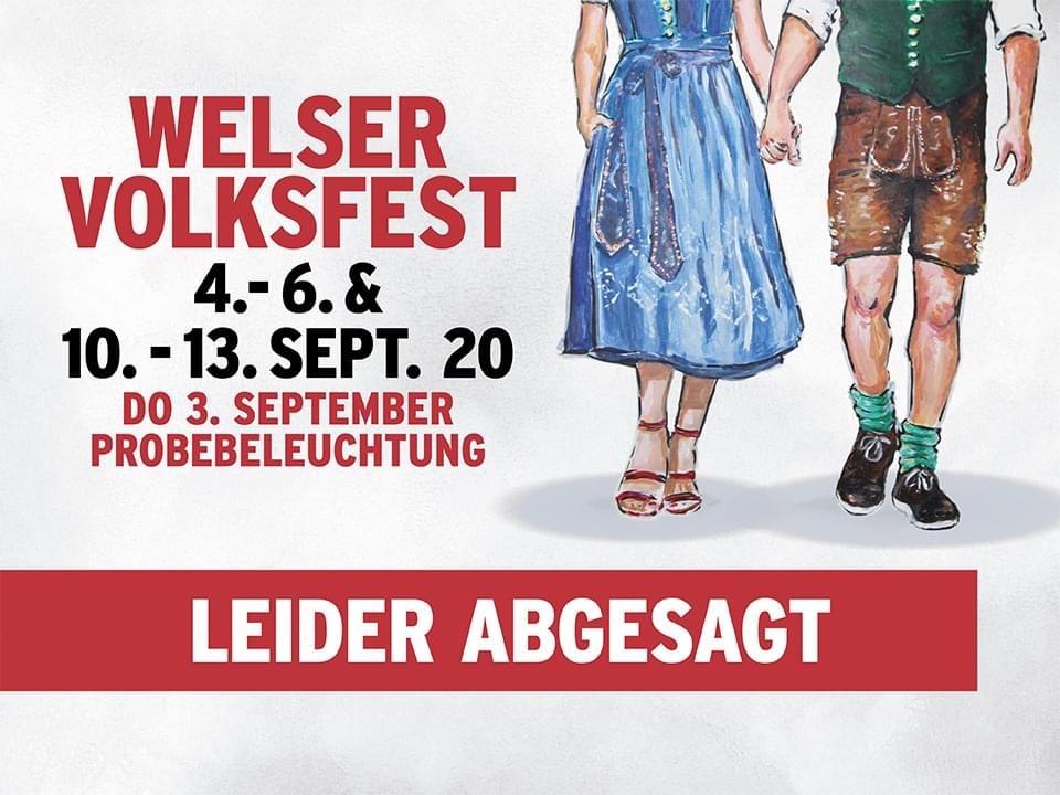 Welser Volksfest abgesagt