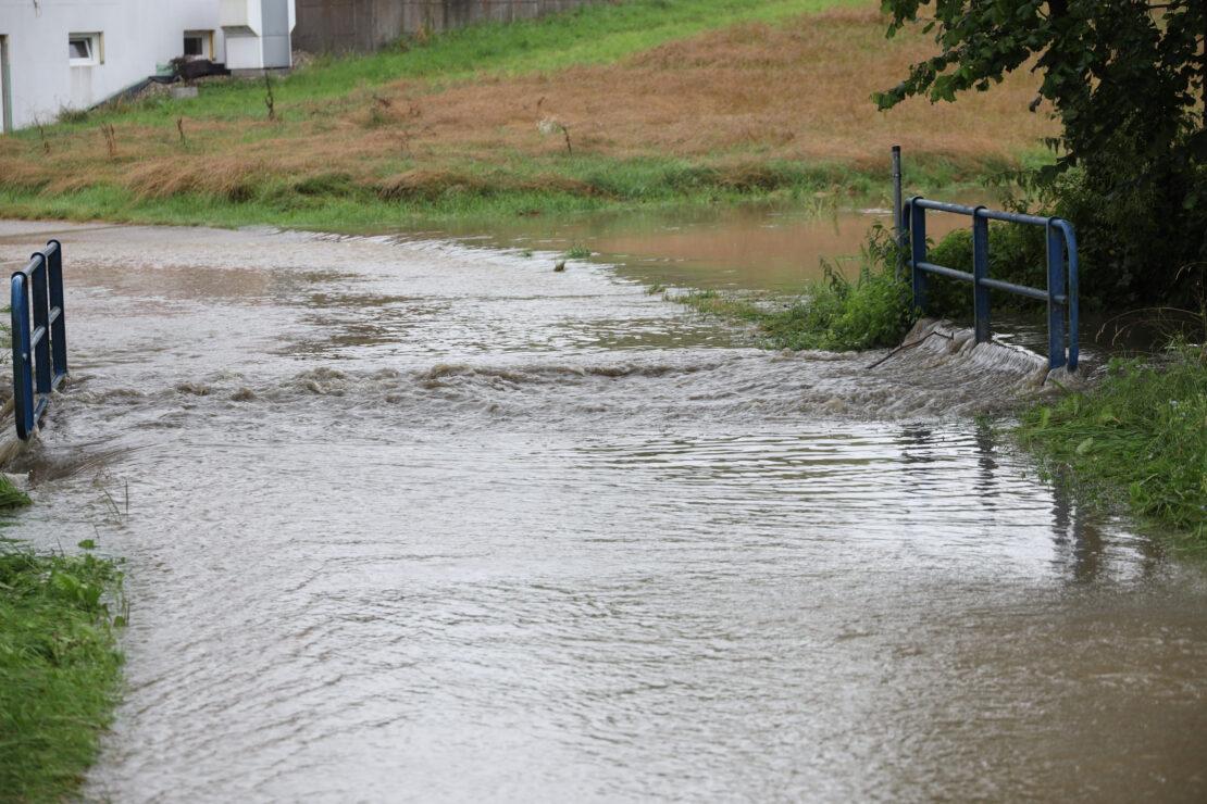 Überflutungen nach Starkregen