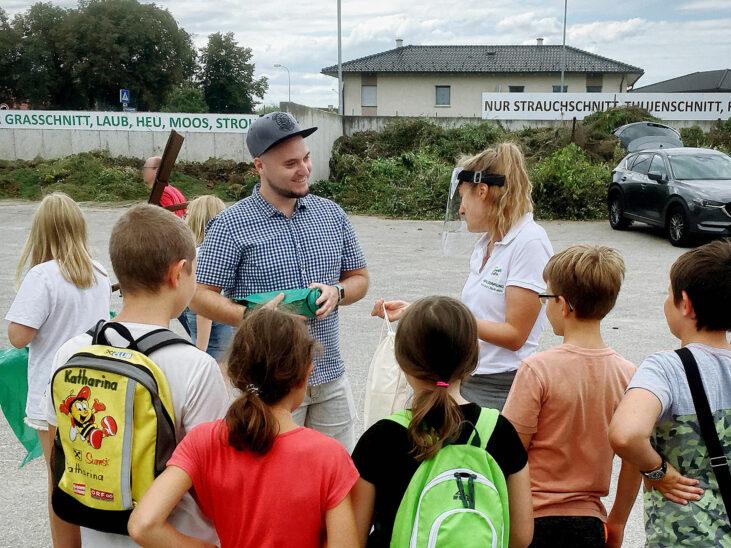 Ferienspaß mit jungen Umweltprofis