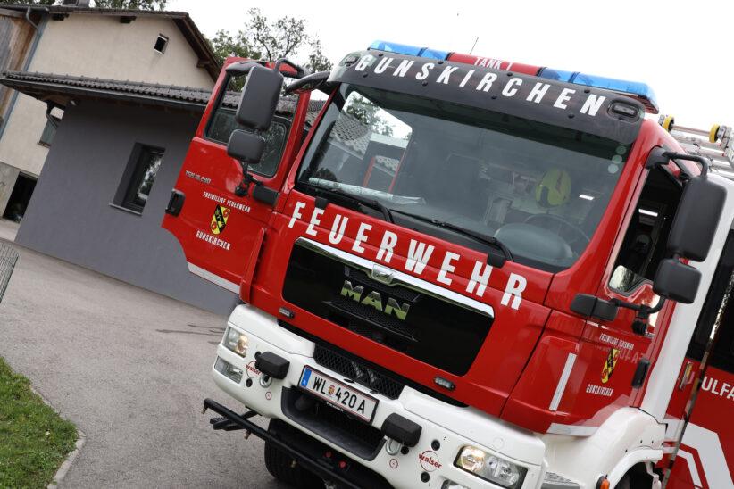 Kleinbrand in Gunskirchen führte zu Einsatz zweier Feuerwehren