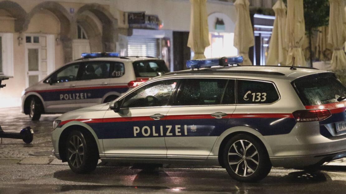 Nächtlicher Großeinsatz der Polizei nach Schüssen in Wels-Innenstadt