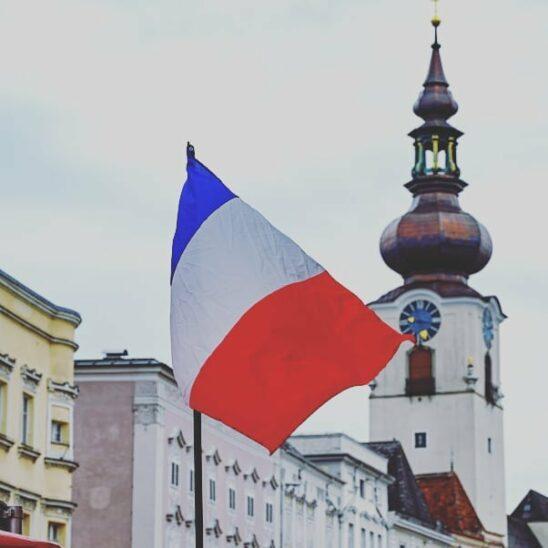 Französischer Markt in Wels