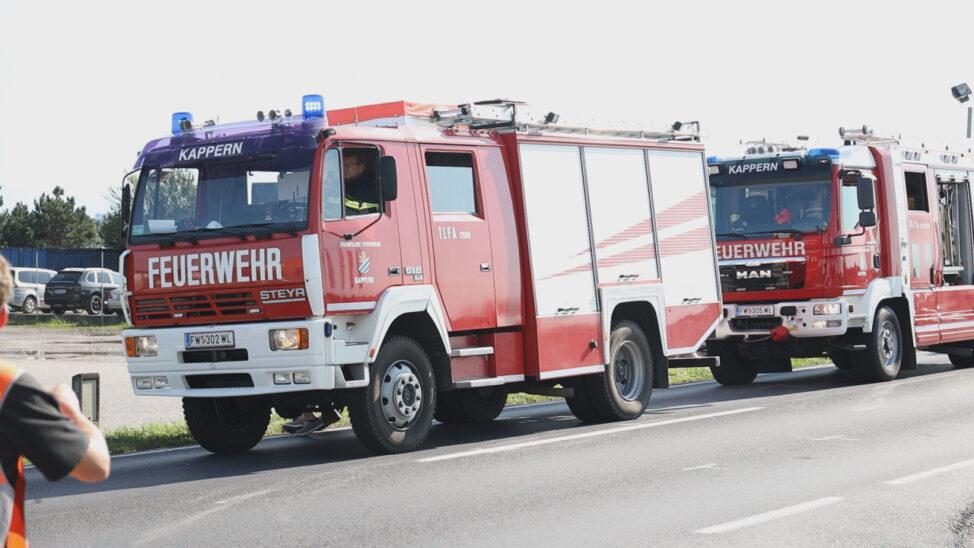 Auffahrunfall auf Wiener Straße in Marchtrenk fordert eine schwerverletzte Person