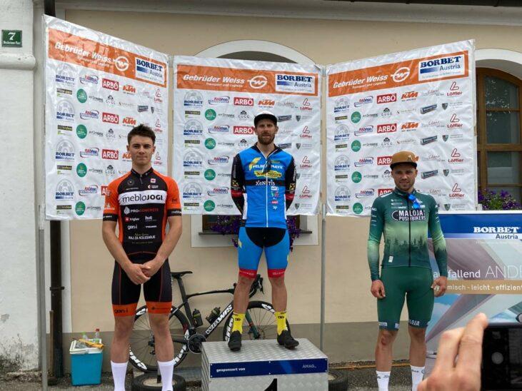Filippo Fortin gewinnt in Braunau