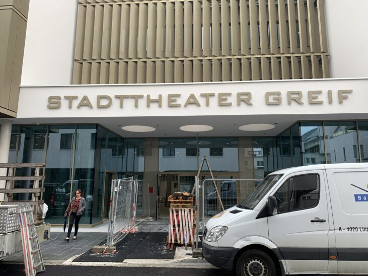 Umbau Stadttheater Greif