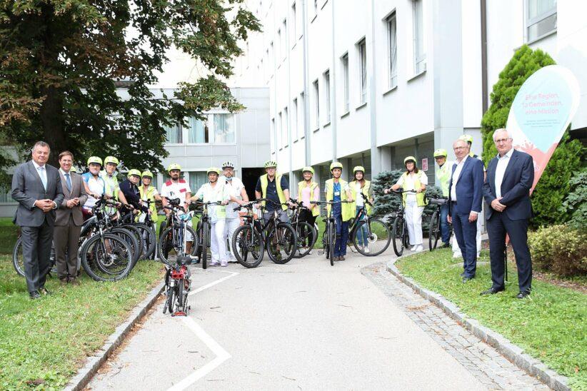 Job-Radmodell Klinikum Wels-Grieskirchen