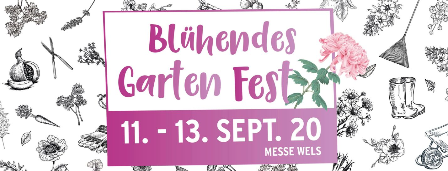 Blühendes Gartenfest