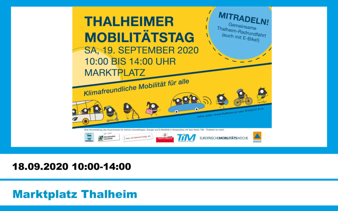 Aktionstag rund um das Thema Mobilität für die ganze Familie!