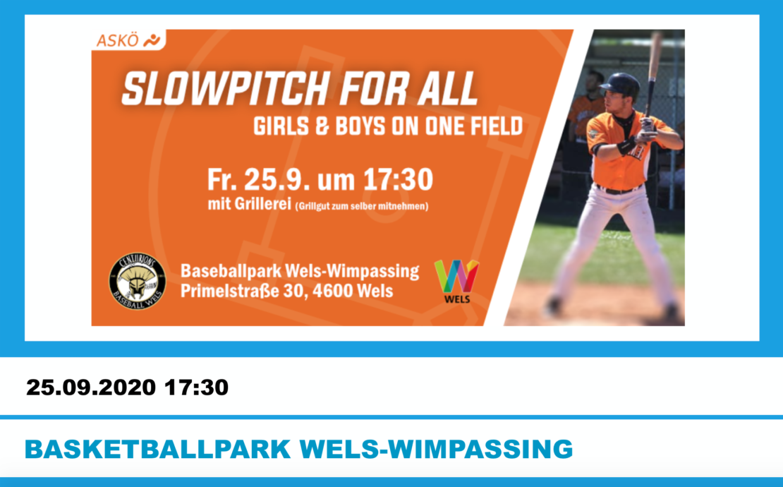 Slowpitch for all
