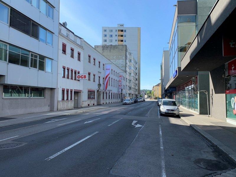 Einbahn Roseggerstraße wird nicht geöffnet