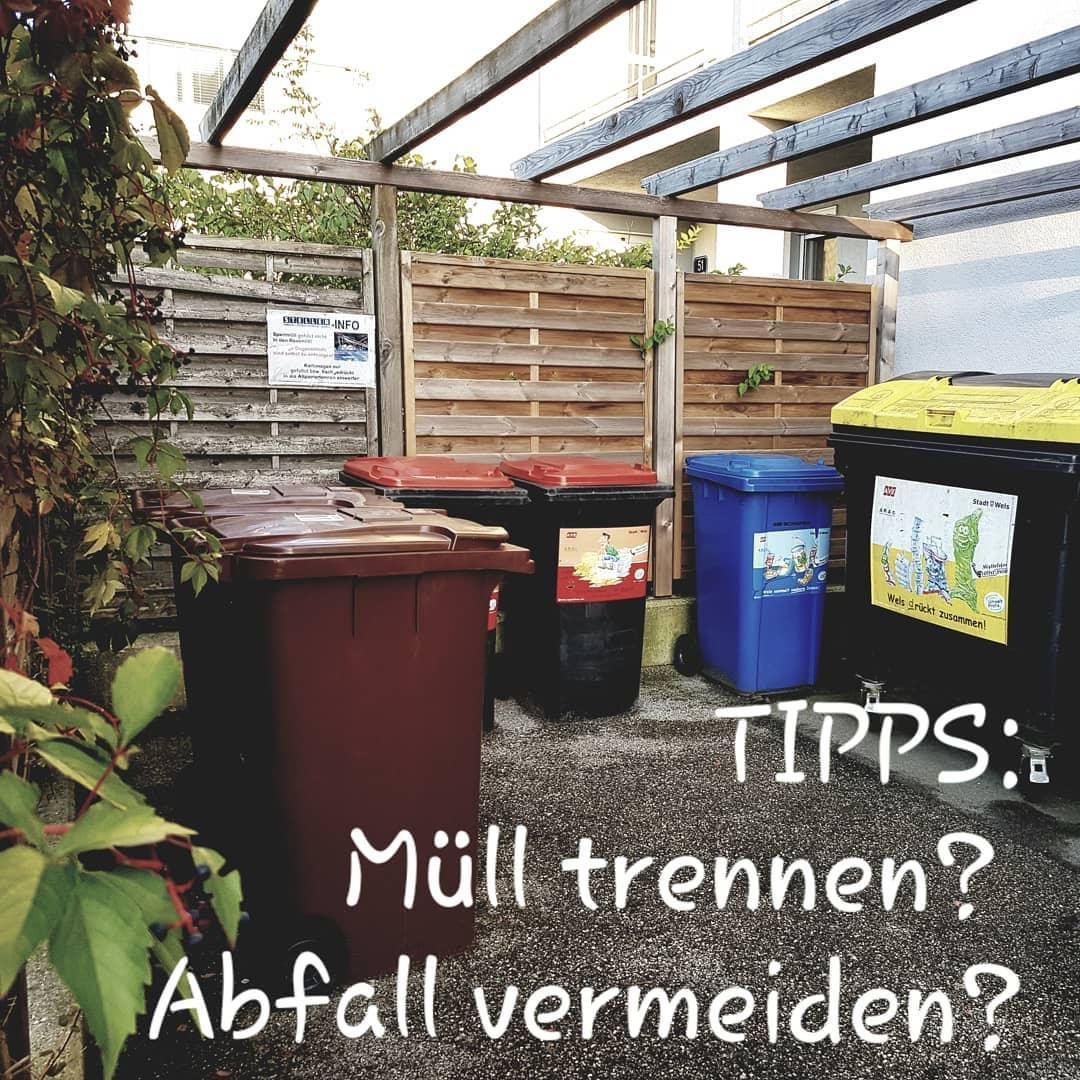 Tipps für Mülltrennung