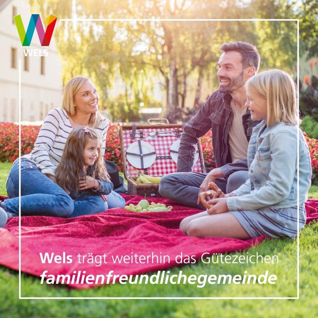 Familienfreundliches Wels