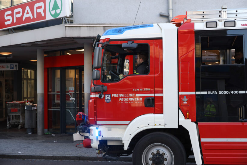 Streitigkeiten führten zu Einsatz der Feuerwehr in Wels-Neustadt