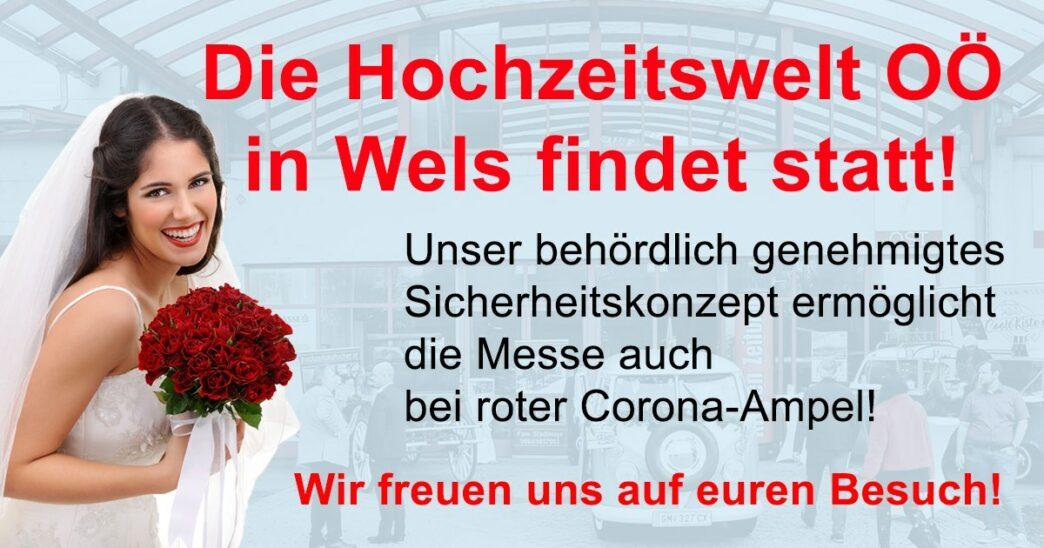 Hochzeitswelt OÖ in Wels findet statt
