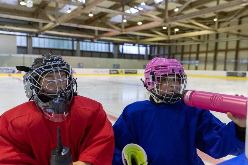 Eishockey für Mädchen