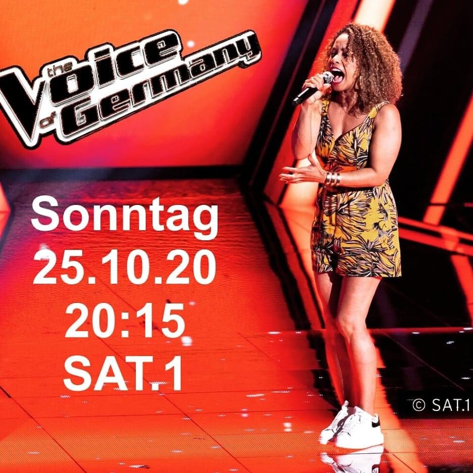 Katiuska McLean bei The Voice of Germany
