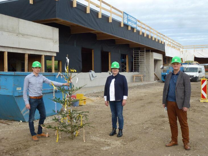 Fertigstellung Rohbau ASZ Buchkirchen