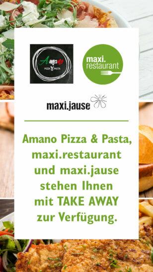 Take Away-Service im max.center