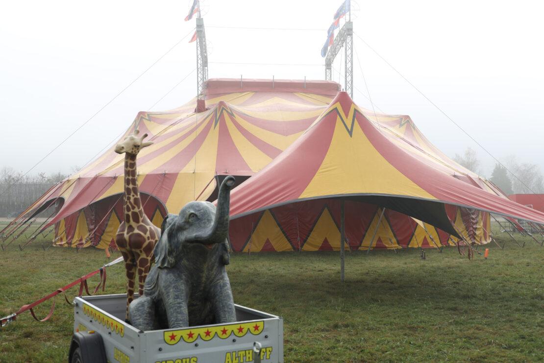 """Situation für Zirkus prekär: """"Vom ersten Lockdown sozusagen direkt in den zweiten Lockdown"""""""