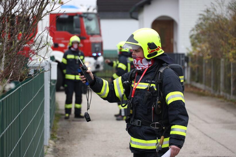 Geruch: Einsatzkräfte zu vermutetem Gasaustritt nach Marchtrenk alarmiert