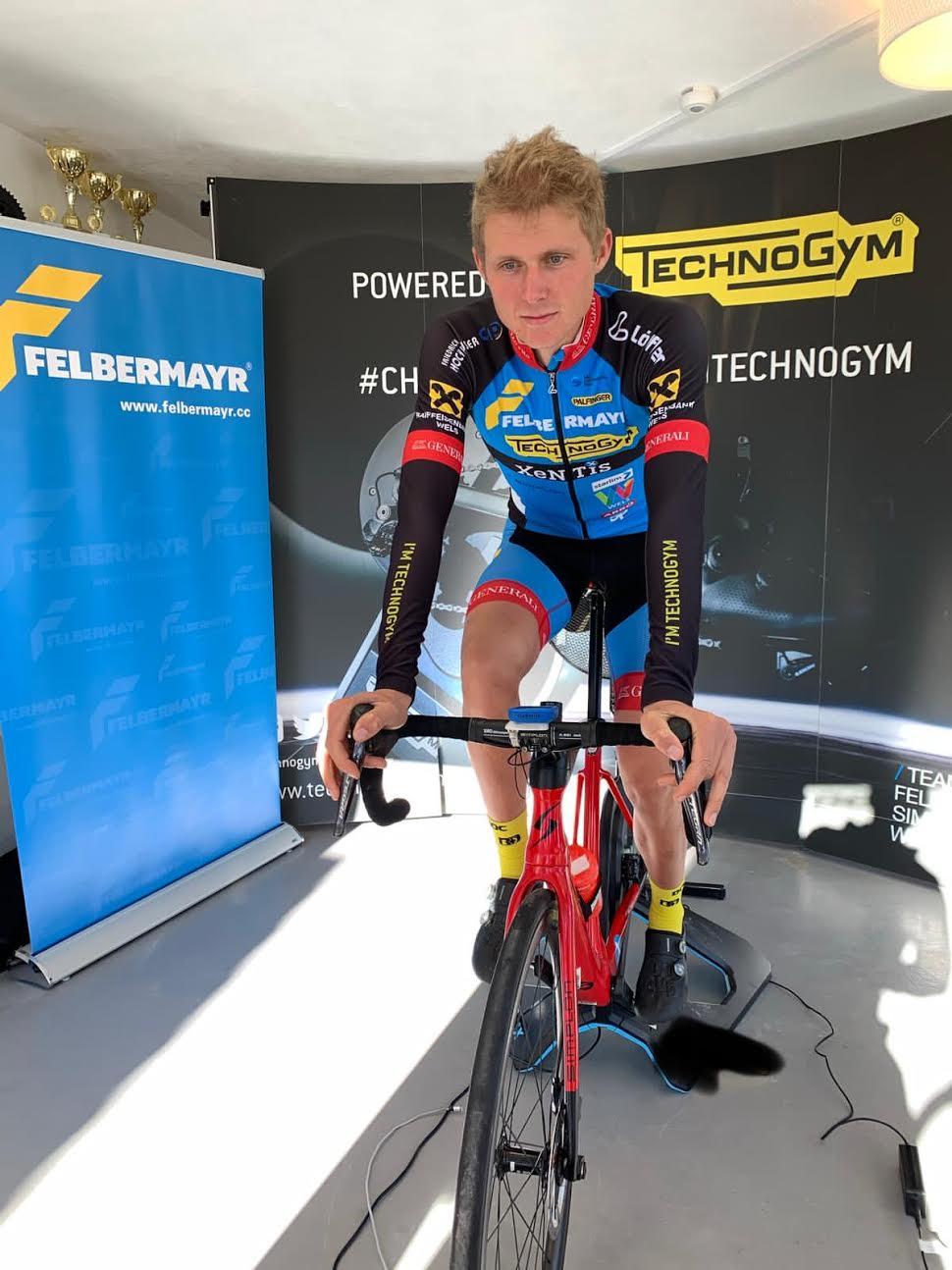 3. Platz für Moran Vermeulen zum Auftakt der eCycling League Austria