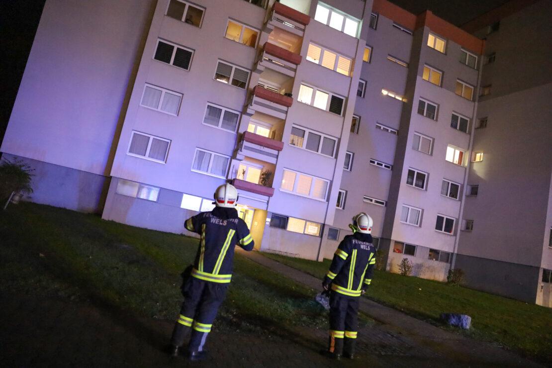 Missglückte Popcorn-Zubereitung in einer Wohnung in Wels-Lichtenegg endet mit Einsatz der Feuerwehr