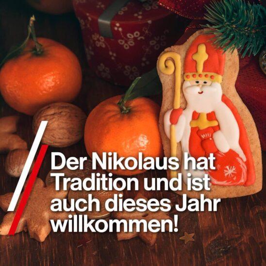 Der Nikolaus darf kommen