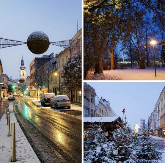 Winter in Wels