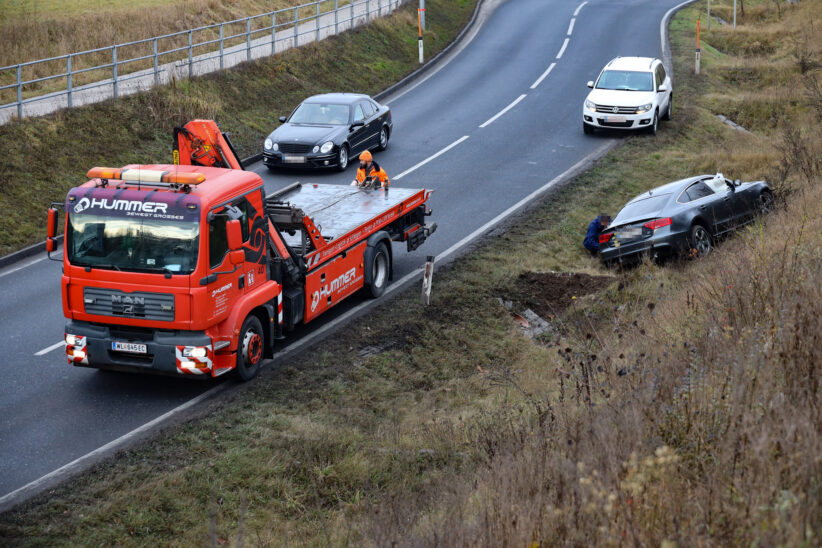 Verkehrsunfall in Marchtrenk fordert einen Verletzten