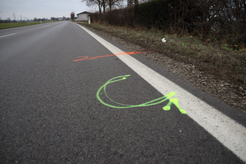 Fußgänger (83) in Gunskirchen von Klein-LKW erfasst und tödlich verletzt