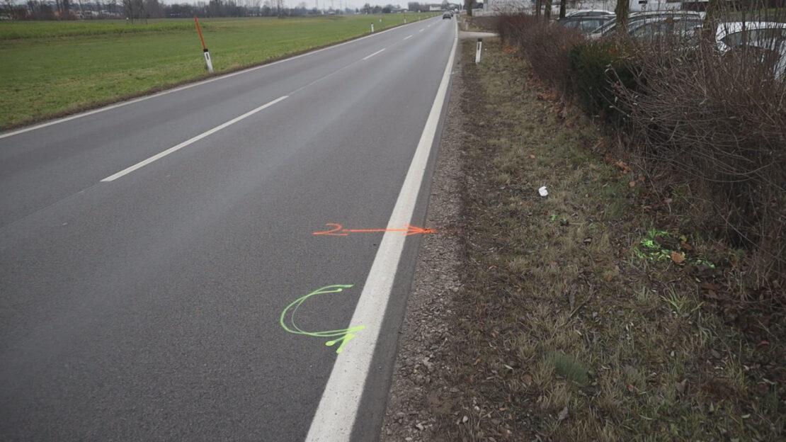 Tödlicher Verkehrsunfall: Fußgänger (83) in Gunskirchen von Klein-LKW erfasst und tödlich verletzt