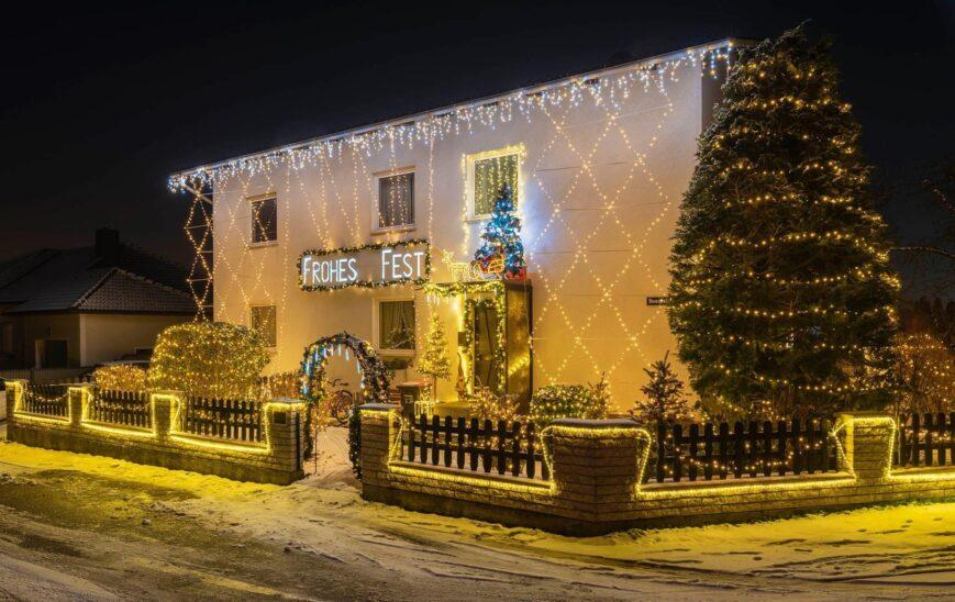 Das weihnachtlichste Haus