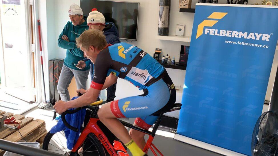 5.Platz für Felbermayr Fahrer