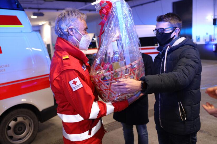 57 Jahre aktiv im Rettungsdienst: Würdiger Applaus und Dank an Franz Weingartner