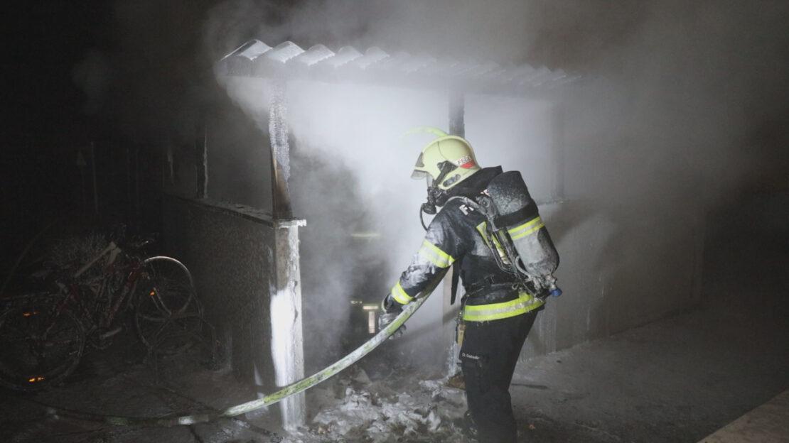 Mehrere Brandeinsätze in Wels