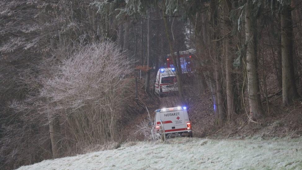 Tödlicher Forstunfall in einem Waldstück in Offenhausen