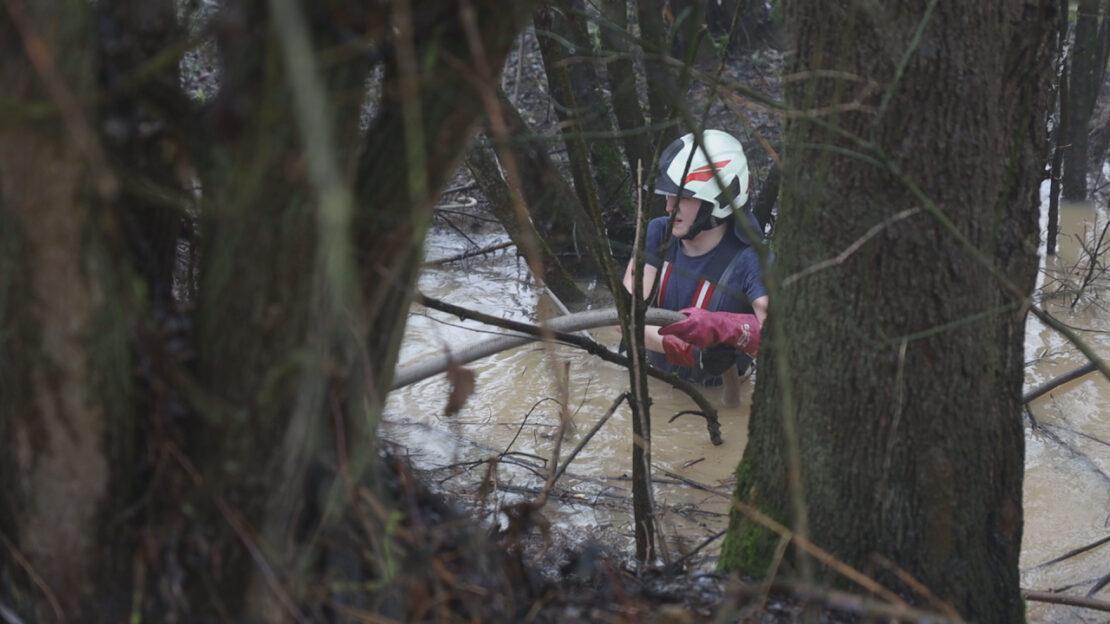 Schneeschmelze und starker Regen führt zu mehreren Einsätzen der Feuerwehren