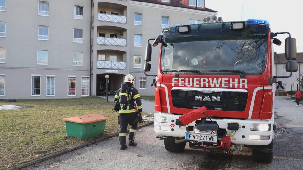 Brandstiftung: Brand im Keller eines Betriebskindergartens in Wels-Neustadt rasch gelöscht