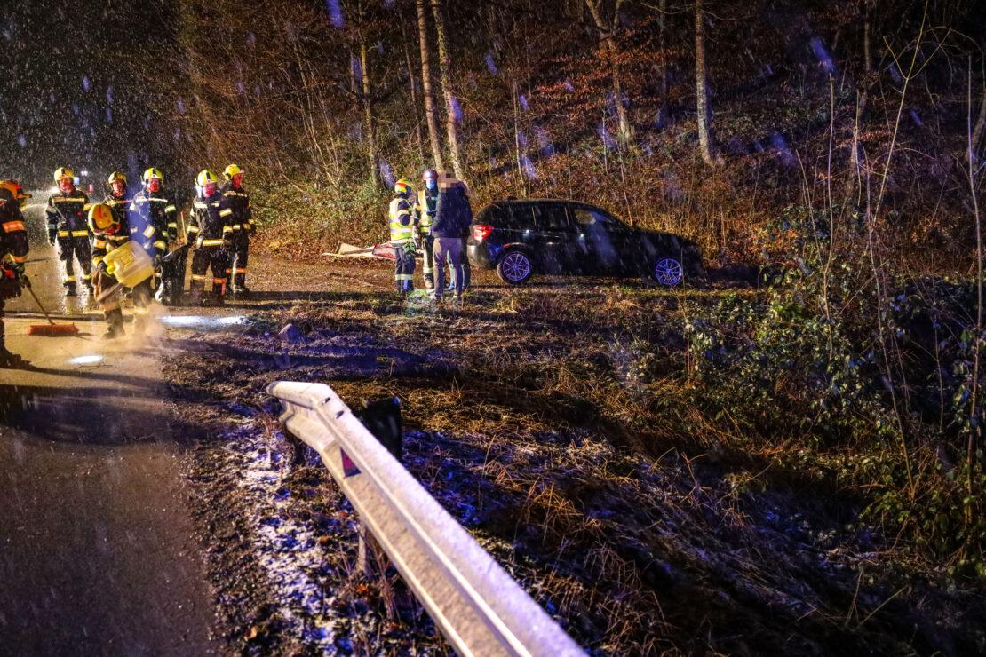 Verkehrsunfall an einer unfallträchtigen Stelle in Steinerkirchen an der Traun