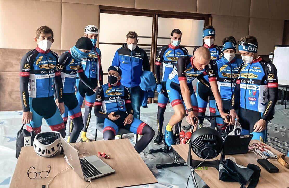 2.Platz für Vermeulen bei E-cycling Liga
