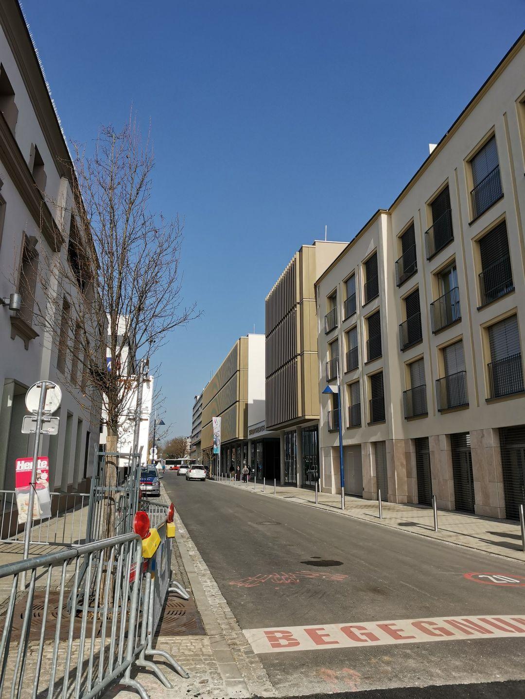 Die Rainerstraße ist wieder offen