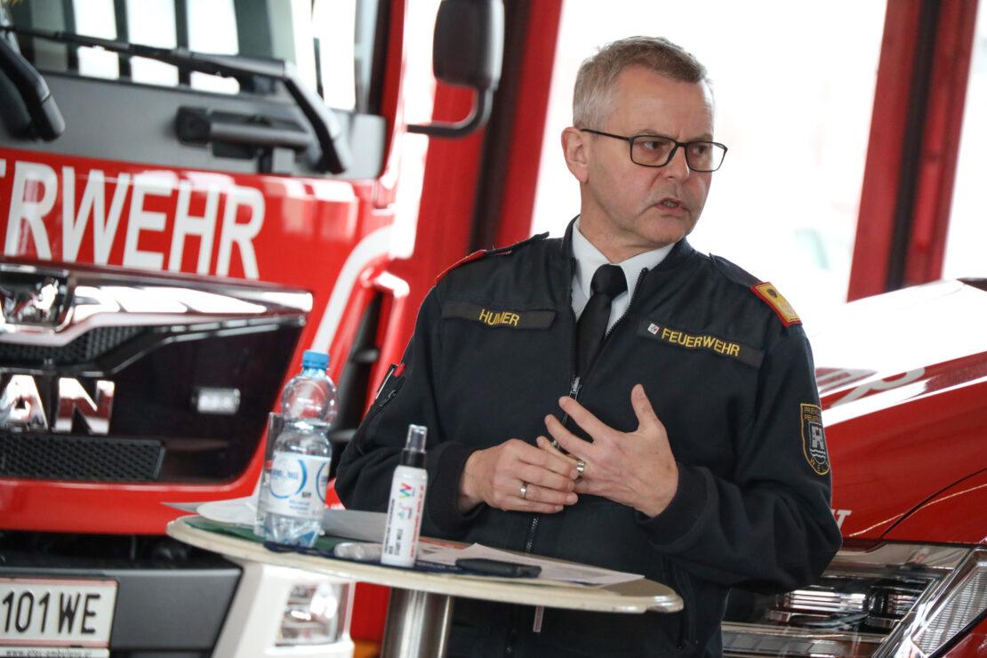 2.192 Einsätze: Jahresbilanz der Feuerwehr der Stadt Wels für 2020